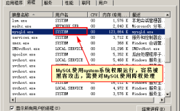 MySQL数据库降权